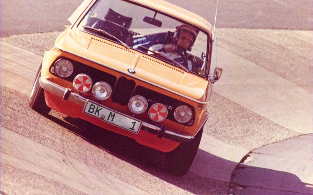 bmw nring 1973 - 50 Jahre Club-Mitglied: Blick ins Fotoalbum von Gisbert Nitzsche.