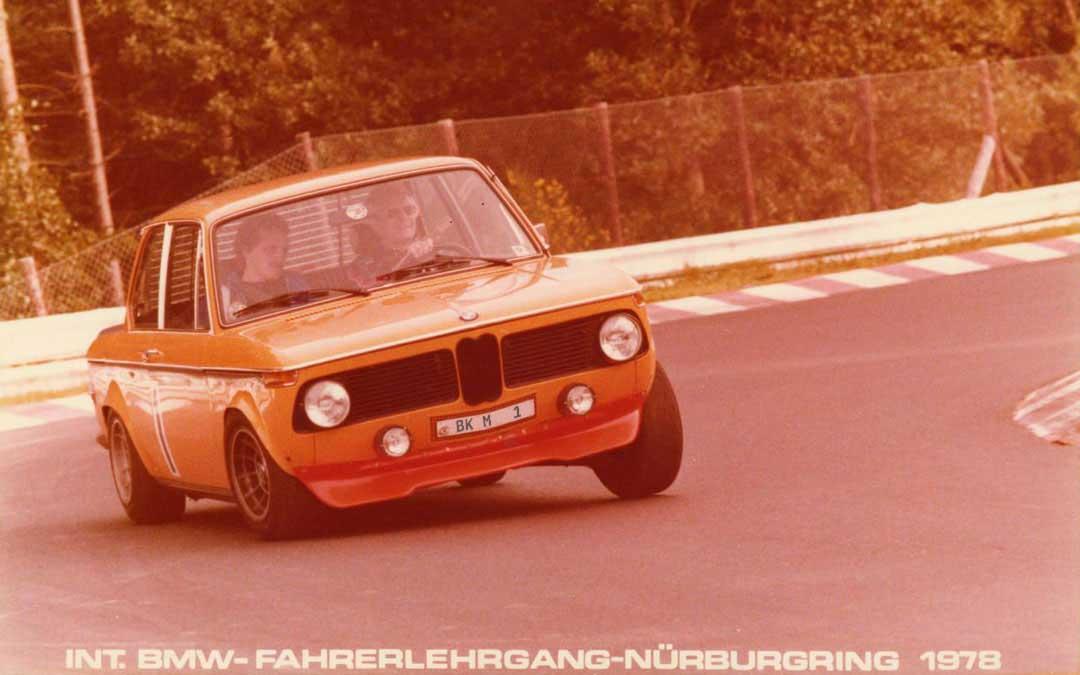 bmw nring 1978 sw2 - 50 Jahre Club-Mitglied: Blick ins Fotoalbum von Gisbert Nitzsche.